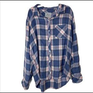 Rails Women's Plaid Button Up XL